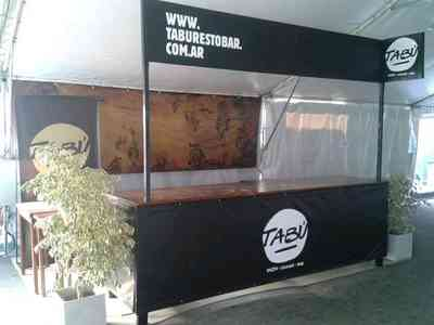 stand para eventos barra movil en Monte Grande, vista previa