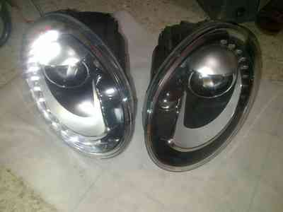 Faro Hella Vw Bettle Turbo 2012 - 2015 Lupa Y LEDS CONDUCTOR O COPILOTO en Gustavo A. Madero, vista previa