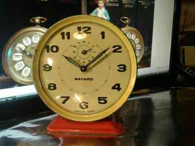 reloj despertador bayard vintage,made in france en Munro, vista previa